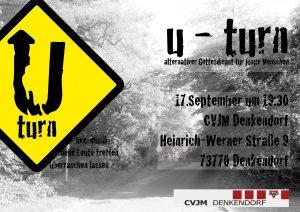 U-Turn Plakat 17.9